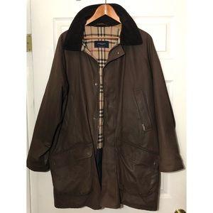 Burberry London Nova Check Duffel Coat